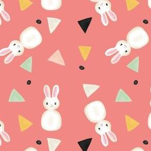 Bunnies in pink