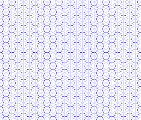 Snowflakes fabric by ari_p on Spoonflower - custom fabric