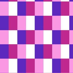 birdie square pink