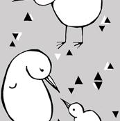 Grey Kiwi Small