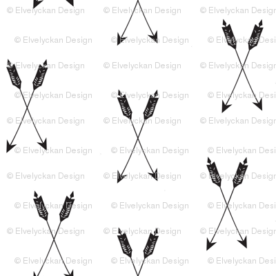 arrows b&w - elvelyckan