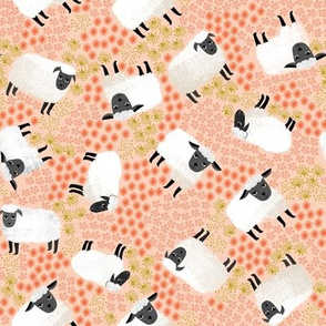 Ditsy Sheep by Andrea Lauren