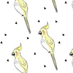 parrot yellow tri - elvelyckan