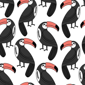 toucan // toucans tropical bird summer tropicals toucan fabric