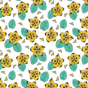 Hibiscus - Yellow by Andrea Lauren