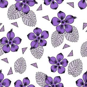 Hibiscus - Purples by Andrea Lauren