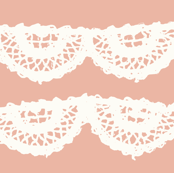 Blush Cream Lace