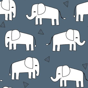 Elephant - Payne's Grey by Andrea Lauren