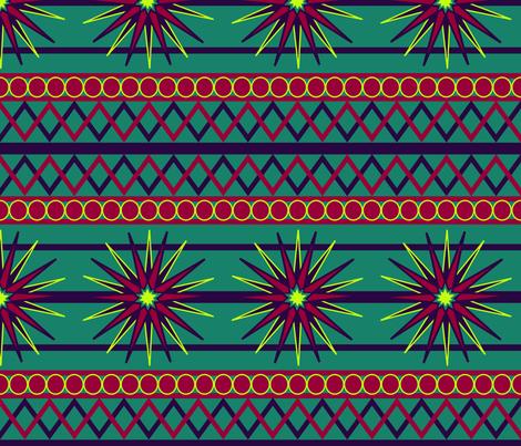Winter Star fabric by owl_sockets on Spoonflower - custom fabric