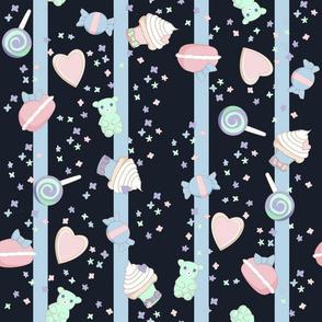 Little Candy Cuties- Navy