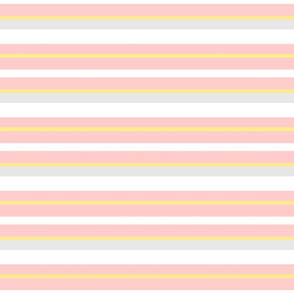 Spring Stripes- Pink Small