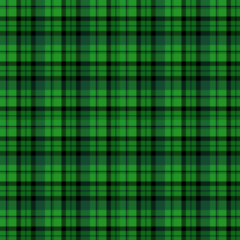 Dark Green Plaid fabric by kiniart on Spoonflower - custom fabric