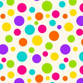 Happy Dots Ivory