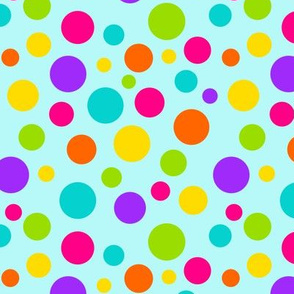 Happy Dots Blue