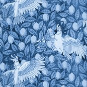 Rrrrlaughing_cockatoos_and_lovely_lemons___blue_and_white___peacoquette_designs___copyright_designs_2015__shop_thumb