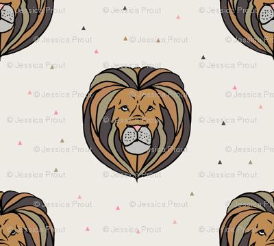lion // neutrals