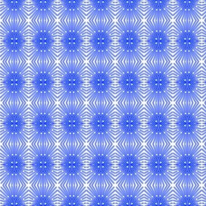 Buds Petals Crochet Lace Blue