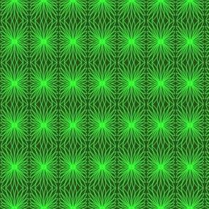 Buds Petals Crochet Lace Green