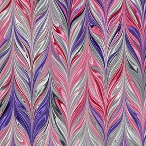 Metallic-SilverPinkPurple-Feather