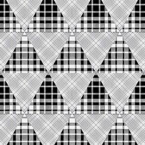 Plaid Triangles 01