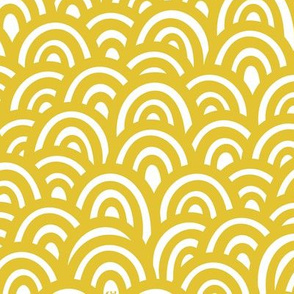 Golden Clouds / Waves