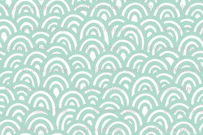 Minty Clouds / Waves