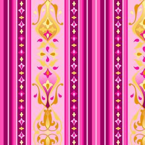 Arabian Nights - Ruby Stripe Wide