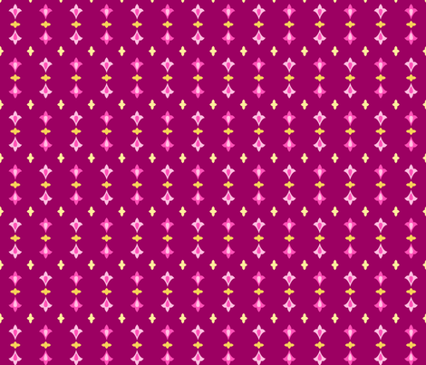 Arabian Nights - Ruby Dots fabric by caribuziak on Spoonflower - custom fabric