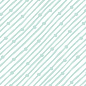 Diagonal Rain Mint