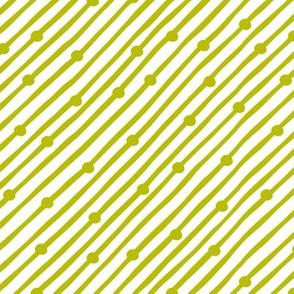 Diagonal Rain Pistachio
