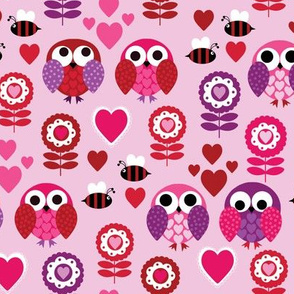 Quirky Bees and Owls