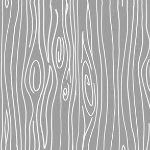 Wonky Woodgrain - Grey