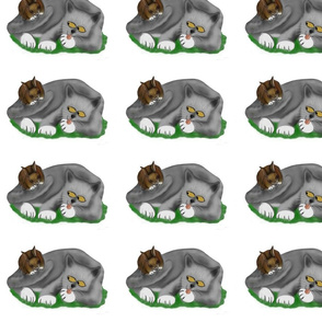 Grey_Kitten_Plays__with_Bunny_-_Spoonflower