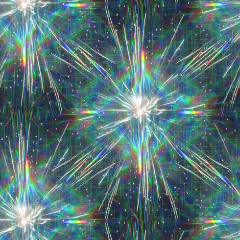 small rainbow sparks fabric by weavingmajor on Spoonflower - custom fabric