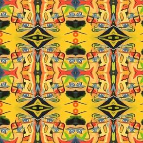 Unique symmetrical art