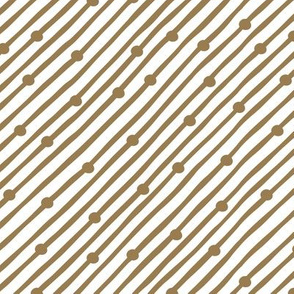 Diagonal Rain Brown