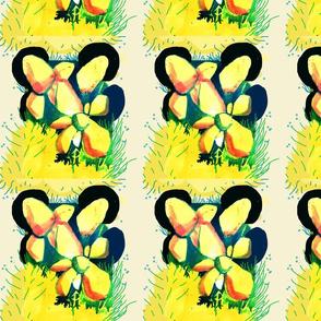 fiori in giallo
