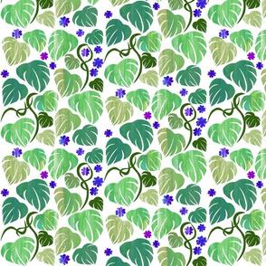 jungle leaf panelstripes