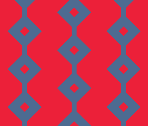 Modernist Lattice fabric by peacoquettedesigns on Spoonflower - custom fabric