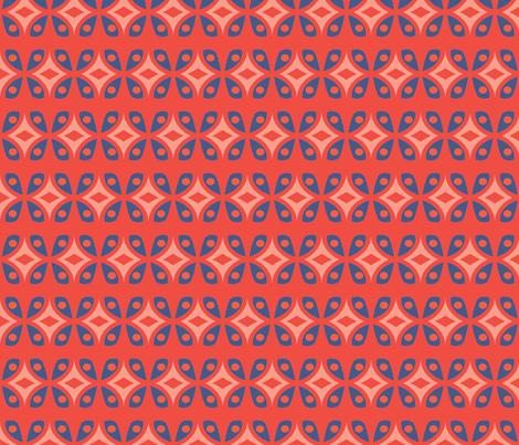 flori_tribal_spring fabric by holli_zollinger on Spoonflower - custom fabric