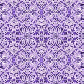 Twisted Purple Paisley Place