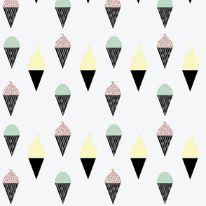 CUSTOM_Ice_Cream_Cone_Fabric