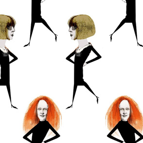 Grace Coddington/Anna Wintour