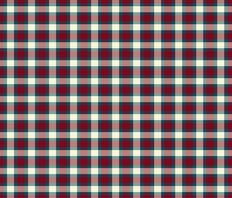 LOVE STRUCK PLAID fabric by bluevelvet on Spoonflower - custom fabric
