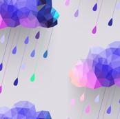 Purple Rain Clouds
