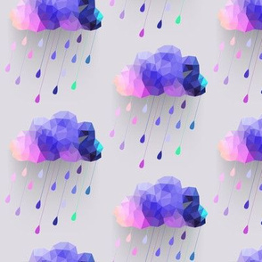 Purple Rain Clouds