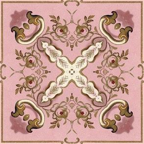 Petit Trianon ~ Floral Tile