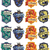 Hogwarts House Badges