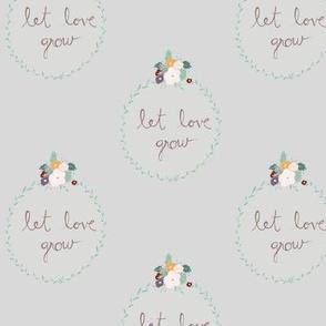 Let love grey