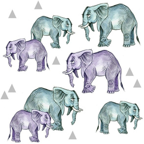 Elephants and Triangles - Smaller Scale